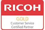 Ricoh Gold Service award